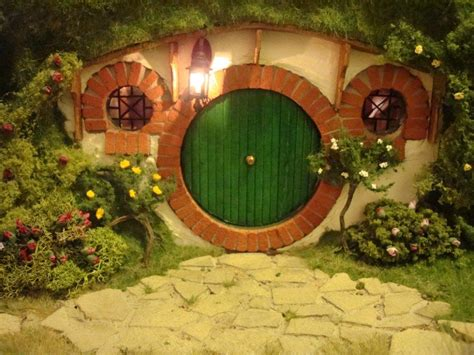 hobbit hole my hand made hobbit hole bag end from lord of the rings
