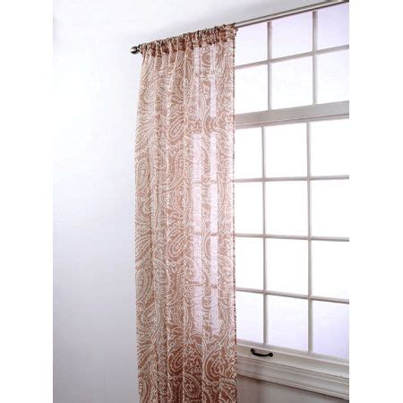 stylemaster curtains stylemaster marley sheer rod pocket curtain panel panels
