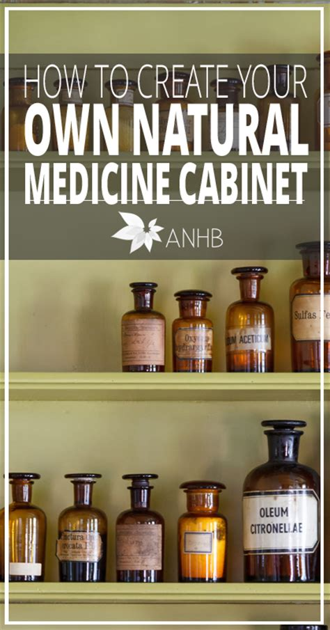 make your own medicine cabinet how to create your own natural medicine cabinet updated