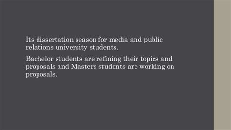 relations dissertation ideas dissertation topics for media and relations students