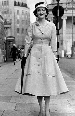 Moda de los años 50. Estilo Elegante. #Moda #Estilo   Moda
