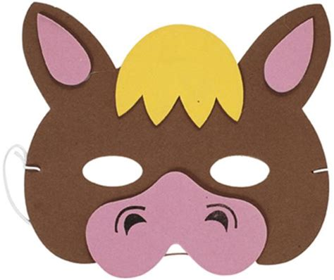 farm animal mask templates foam farm masks