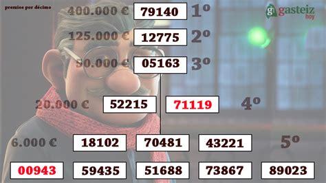 cuarto premio loteria navidad el cuarto premio cae en el centro y el quinto en adurza