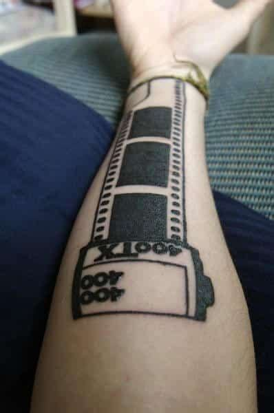 film strip tattoo designs tattoos for ideas and inspiration for guys