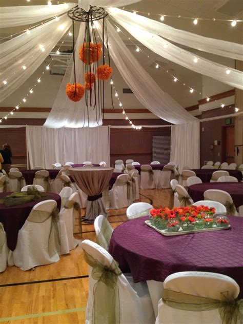 Event Masters Decor. Ceiling treatments can transform the