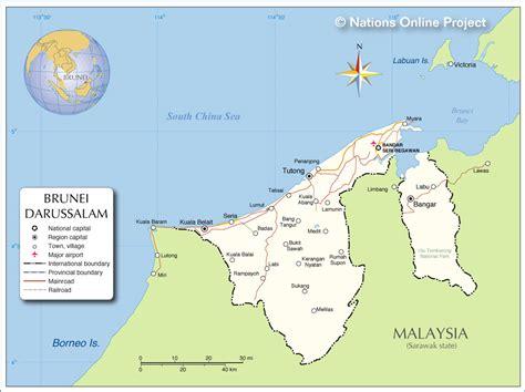brunei map mapas de bandar seri begawan brunei mapasblog