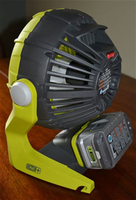 ryobi fan and battery ryobi 18 volt one portable fan review on tool box buzz