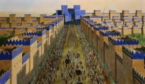 ritual ceremony of akitu chaldean babylonian new year