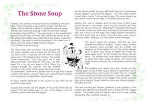 this week on sunday storytime the stone soup and