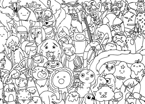adventure time coloring pages adventure time coloring page coloring pages of epicness