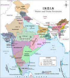 Map Of India And Surrounding Countries by Maps Page On India