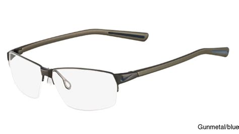 buy nike 8110 semi rimless half frame prescription