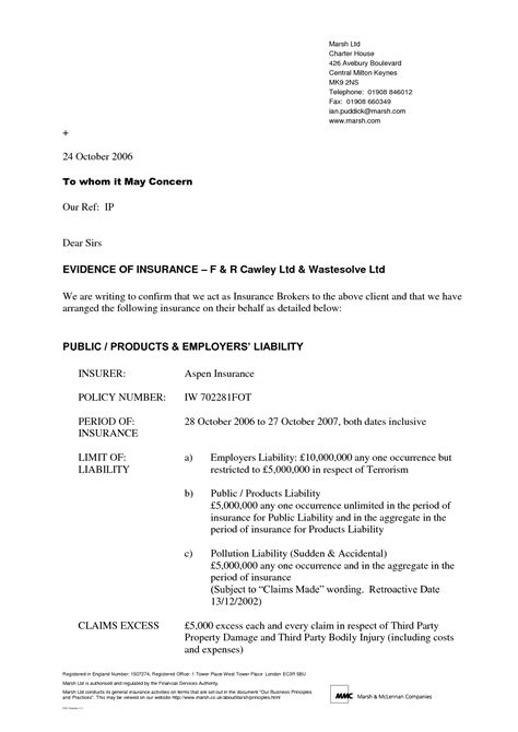 Employee Letter Of Concern Sle letter format of to whom it may concern best template