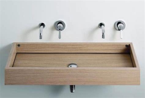 wooden sinks for bathroom 10 dashingly wooden bathroom sinks rilane