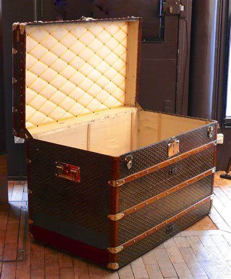 large trunk goyard large steamer trunk the eaton collection