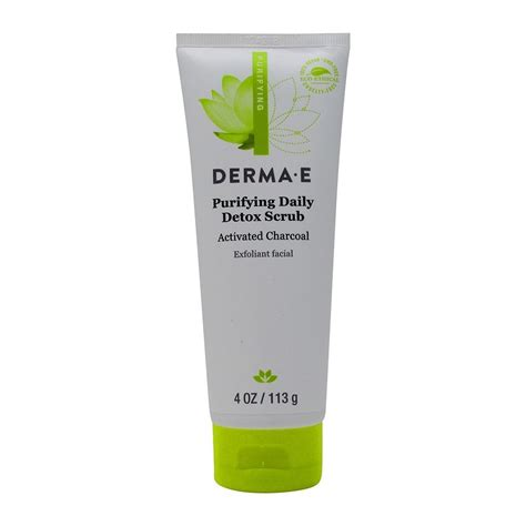 Derma E Purifying Daily Detox Scrub by Derma E Purifying Youth Serum 1 Fluid Ounce