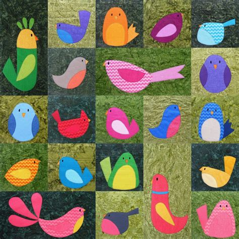 Quilt Patterns With Birds by Choosing Fabrics For The Bird Quilt Shiny Happy World