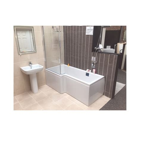 shower bath 1500 carron quantum showerbath 1500