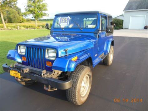1990 Jeep Laredo Parts Sell Used 1990 Jeep Wrangler Laredo Sport Utility 2 Door 4