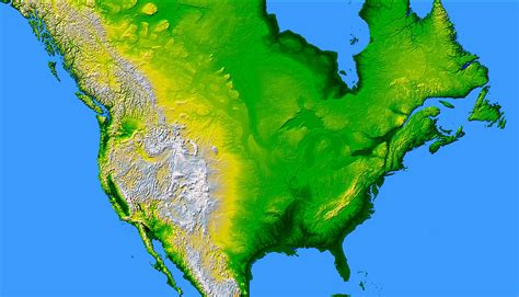 america heightmap america largest