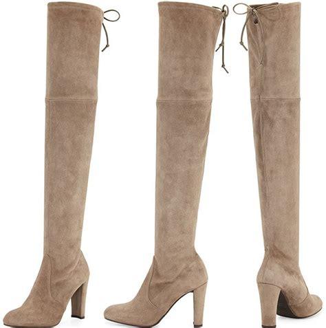 stuart weitzman highland the knee boots cara santana twirls in stuart weitzman highland boots