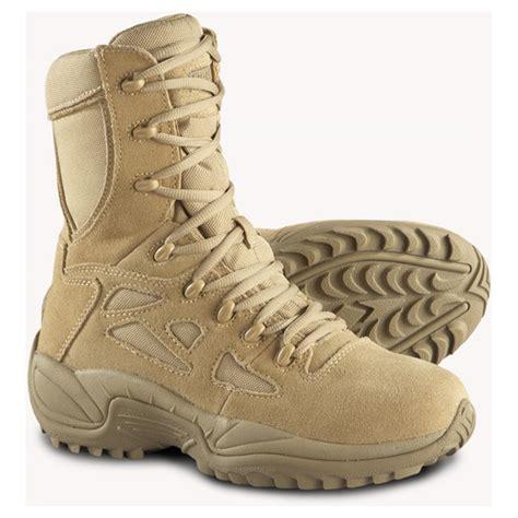 reebok boots s reebok 174 8 quot stealth side zip combat boots desert
