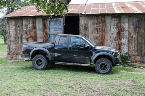 Ford F 150 Raptor Reigns Supreme on Texas Test Drive Track