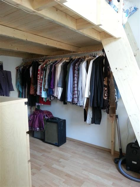 Loft Beds With Closet Underneath by Wiener Schnitzel Und Lederhosen
