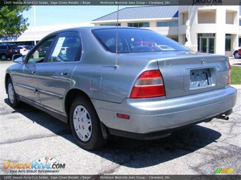 1995 Honda Accord by 1995 Honda Accord Lx Sedan Green Metallic Beige