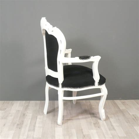 Black And White Armchairs by Black And White Baroque Armchair Chairs