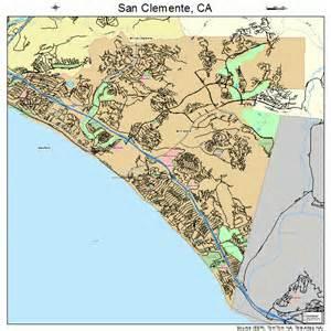 map of san clemente california san clemente california map 0665084