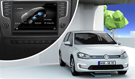 E Golf Autonomy by Charged Evs Volkswagen Demonstrates E Golf That Can Park