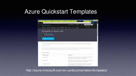 Linux Mac ユーザーのための Microsoft Azure 仮想マシン 入門 Azure Quickstart Templates