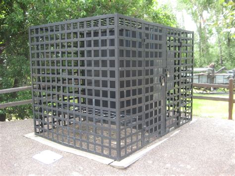 big cage creepy unmarked cage for in superior colorado boing boing