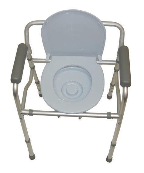 Foldable Toilet Chair by Folding Commode Chair And Toilet Surround