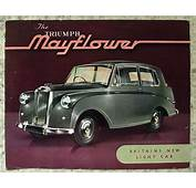 TRIUMPH MAYFLOWER Car Sales Brochure C1950