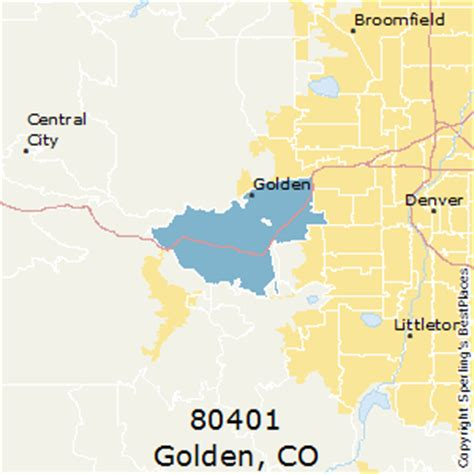 zip code map jefferson county colorado best places to live in golden zip 80401 colorado