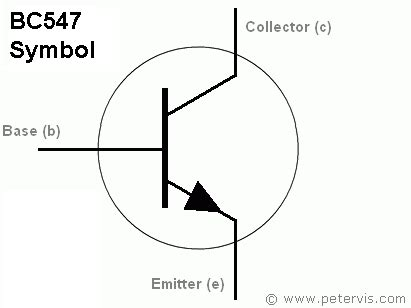 bc548 transistor pin description bc547 transistor