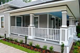 Historic after amp before traditional porch dallas by creative