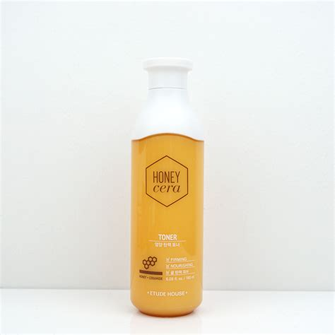 Toner Etude etude house honey cera firming nourishing toner review