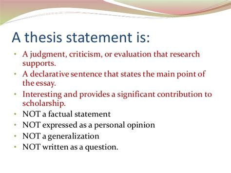 good thesis about social media writing a good thesis statement
