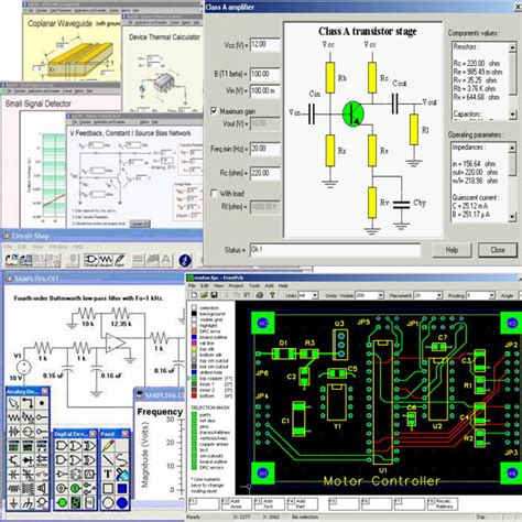 free software for designing electronic circuits