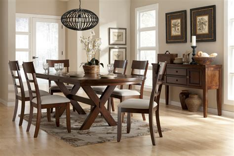 trestle dining room table sets 24039