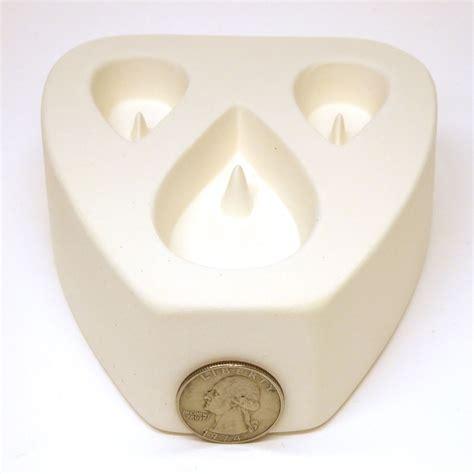 jewelry molds teardrop trio earring pendant jewelry mold