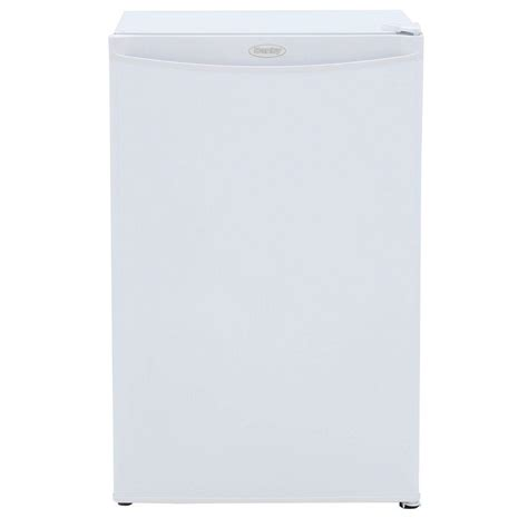 danby 3 2 cu ft manual defrost upright freezer in white
