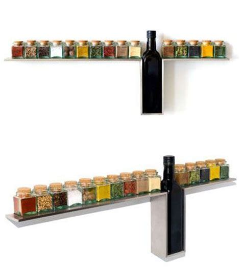 Wall Mounted Spice Rack wall mounted spice rack creative imagination for the