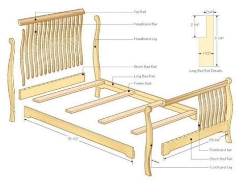Parts For Bed Frames 59 Best Images About Bed On Pinterest Pine Blue Candles And Elevator