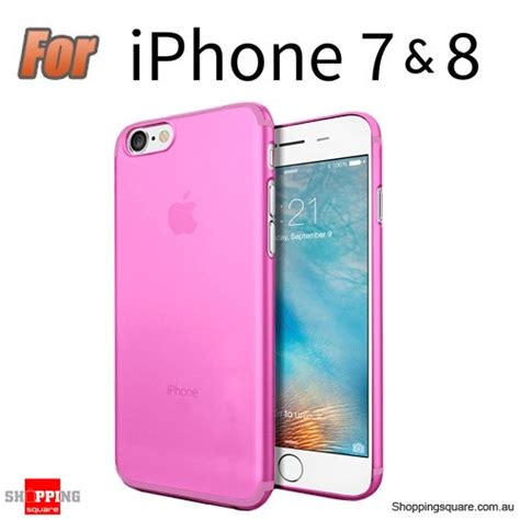 Slim For Iphone 55s Pink slim tpu soft gel transparent cover for iphone 7 pink colour shopping shopping