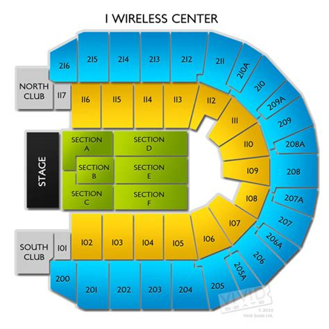 iwireless center seating view iwireless center seating chart iwireless center seating