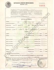 Translated Birth Certificate Template by Best Photos Of Certificate Templates